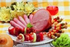 """Вкусные рецепты: Торт""""8-Марта"""" или ромово-бисквитная сладость, Соленая рыба, Хлебный пудинг с корицей"""